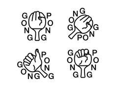 Gong Pong #logo #pong #gong