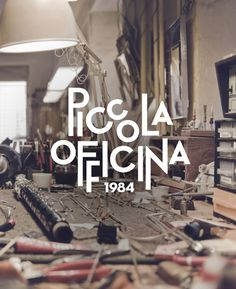 Piccola Officina on Behance #logotype