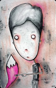 Touch it on Behance #touch #moleskine #watercolour