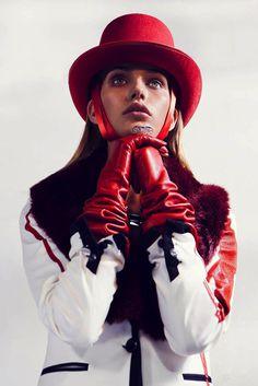 Karolina Waz by Michal Kar #fashion #model #photography #girl