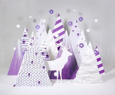 Purple Wishes on the Behance Network #christmas