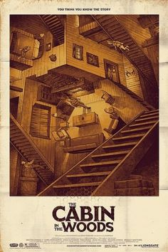 Cabin in the Woods Film Poster