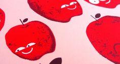 Doe Eyed / Design & Illustration #screen #illustration #fruit #print