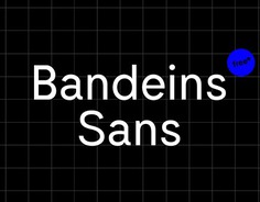 Bandeins Sans is a simple, modern sans serif typeface which combines typical geometric characteristics with a slightly curvy character, inspired by grotesque fonts from the 19th century. Designed by Maximilian Müsgens, Bandeins / Typeeins. The complete specimen on type.bandeins.de more on www.bandeins.de and www.type.bandeins.de #font #typeface #typedesign #sansserif #design #typography #typodesign #type #grotesque #typefoundry #typeeins #bandeins #minmal #modern #variable #variablefonts