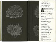 Maira Kalman #endpaper #book #black