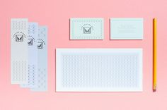 tin&ed - The Thousands #identity #branding #stationery