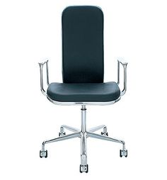 Supporto - task chairs #chair #aluminium #black