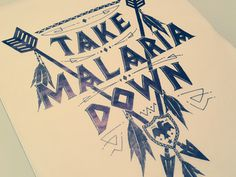 Takemalariadown dribbble drew #typography