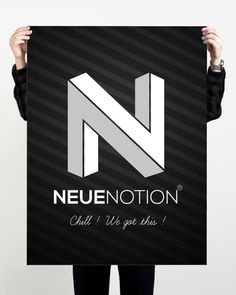 Neue Notion Official Logo Design
