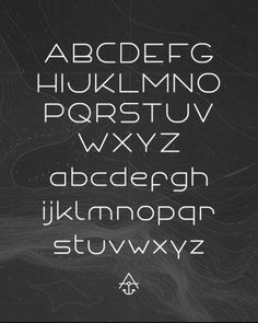 ANCHOR FONT - Typography - Creattica #type #typeface #typography
