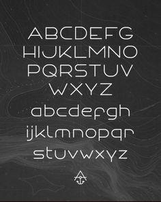 ANCHOR FONT - Typography - Creattica #typography #type #typeface