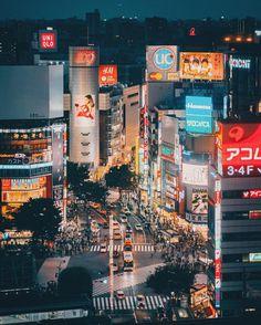 Vibrant Night Photography of Tokyo's Streets by Keiichiro Kinoshita