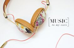 West End Girl Blog | BLOG | Designer of all things lovely #power #floral #headphones #gadget #music #ears #flower #flowers