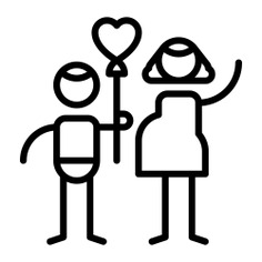 See more icon inspiration related to mother, mother and son, love and romance, parents, valentines day, son, kid, family, heart, love and people on Flaticon.