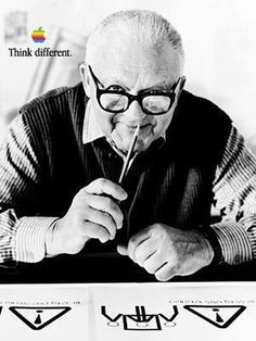 Paul-Rand.com :: American Modernist :: 1914-1996 #think #apple #different #design #randy #paul