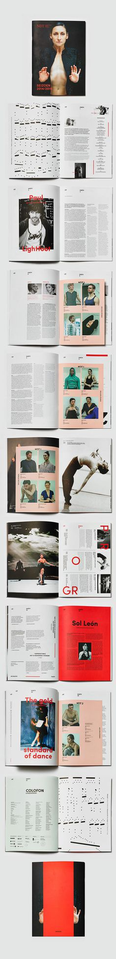 Nederlands Dans Theater on Behance