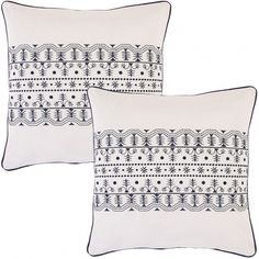 Designer-Style-Polyester-Filler-White-Pillows.jpg 900×900 pixels #blackwhite