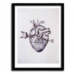 HEART BY FAVRY #print #art