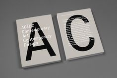 AC / DC Company art Contemporary Design #inspiration #design #bold #book #cover #simple #minimal #art #layout #typography