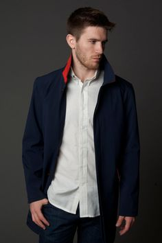 Navy Brody Trench #trench