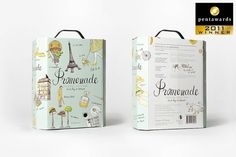 Redesign Promenade - www.olssonbarbieri.com #packaging #wine