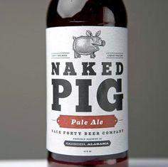 Back Forty Beer Co. #beer #bottle #label #packaging