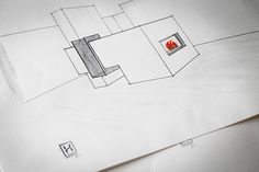 Hafnerei Tyrol on Behance #modern #design #handmade #fireplace #sketch