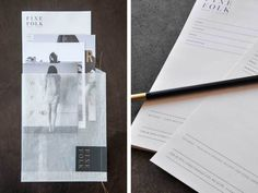 A new brand identity for Finefolk by Design Ranch | Creative Boom #branding #print #collateral #stationery #fashion