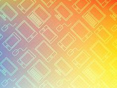 Patterndribbble #pattern #seamless #technology