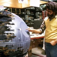 Death Star #george #star #wars #lucas