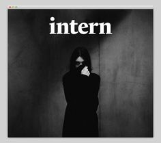 Intern Magazine #website #layout #design #web