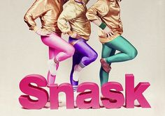 gympa | Flickr - Photo Sharing! #pink #design #graphic #snask #identity #art #purple #fashion #gold #80s #typography