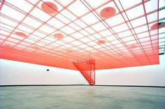 Do Ho Suh Artists Lehmann Maupin #red #art #installation