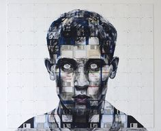 Nick Gentry Amazing Artworks   Abduzeedo   Graphic Design Inspiration and Photoshop Tutorials #design #illustration #painting #figurative #portraits #collage
