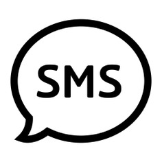 See more icon inspiration related to sms, chat, conversation, message, speech bubble, speech balloon, chatting and interface on Flaticon.