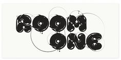 Circle.26 on the Behance Network #inspiration #font
