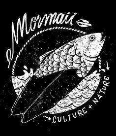 https://m1.behance.net/rendition/modules/99205539/disp/a29539f91d8362e679456ca0384aacb5.jpg #fish #board #surf #nature #culture