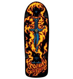 Powell Peralta Tommy Guerrero Flaming Dagger Limited Edition Deck | BOARDRIDERS GUIDE #tommy guerrero #powell