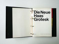 Die Neue Haas Grotesk – Helvetica