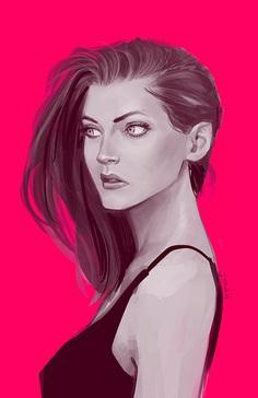 Chica by Dan Mora