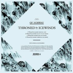 Of Norway - Throned by icewinds on the Behance Network #cover #disco #iceland