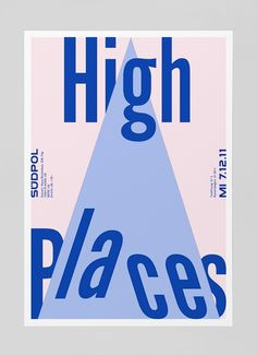 HighPlaces_b.jpg (570×786) #design #poster