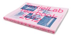 TextielLab Yearbook 18 #binding #print #cover #exposed #editorial