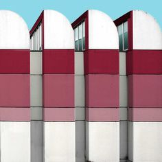 Paul Eis Reimagines German Architecture By Adding Some Colour Himself