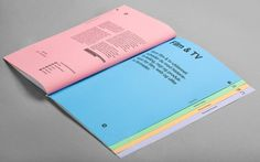 Heydays — Westerdals #print #publication #heydays #various formats #color fields