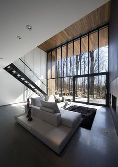 Onestep Creative - The Blog of Josh McDonald » Mont-Saint-Hilaire Residence #interior #design #home #modern
