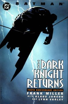 batman-dark-knight-returns-01-000.jpg (1000×1541) #miller #knight #batman #night #lightning #thunder #frank #dark