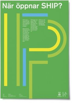 Google Reader (1000+) #flat #sweden #yellow #poster #graphics #blue #green