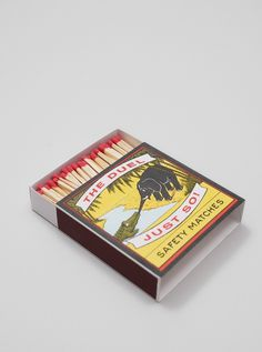 A Fine Match Box Co - The Duel | Present London #matchbox #match #a #packaging #design #co #box #package #fine