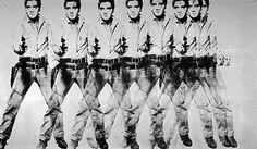 Andy Warhol Eight Elvises